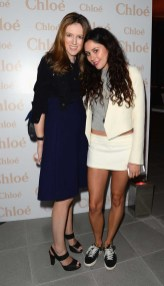 Clare Waight Keller and Eliza Doolittle
