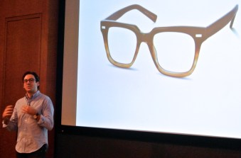 """Neil Blumenthal of Warby Parker at Lucky FABB 2013"""