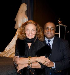 Diane von Furstenberg and Jeffrey Banks