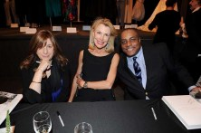 Erica Lennard, Doria de la Chapelle and Jeffrey Banks