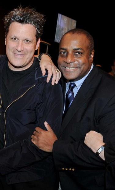 Isaac Mizrahi and Jeffrey Banks