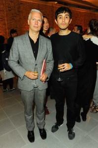 Klaus Biesenbach and Adrian Villar Rojas