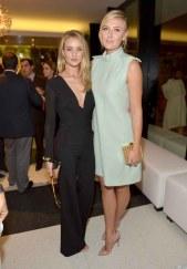 Rose Huntington-Whitely and Maria Sharapova