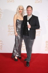 Rita Ora & Nicholas Kirkwood (Accessory Designer of the Year)