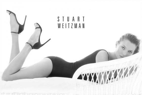 STUART WEITZMAN KATE MOSS 2014 ADVERTISING CAMPAIGN