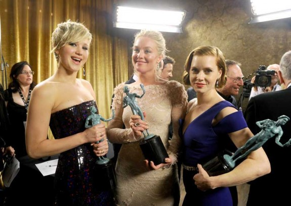Jennifer Lawrence, Elizabeth Rohm, and Amy Adams