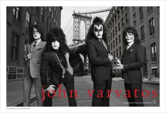 John Varvatos SS14 KISS Spread2