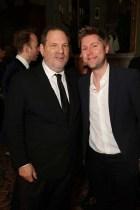 Harvey Weinstein and Christopher Bailey