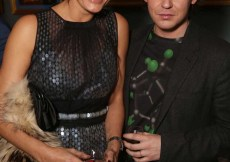 Yasmin Le Bon and Christopher Kane