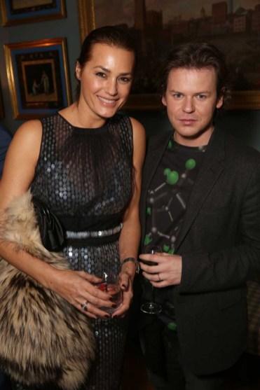 Yasmin Le Bon and Christopher Kane