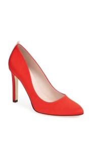 Lady Pump Red - $350