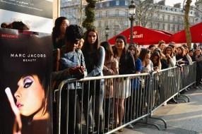 'Marc Jacobs Beauty' Presentation At Sephora Champs Elysees