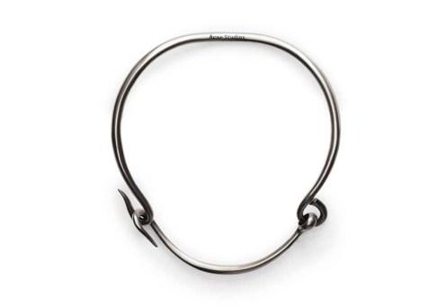 acne carena-silver-necklace
