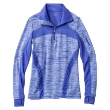 C9 by Champion Women's Premium ¼ Zip Spacedye Pullover, Amparo Blue, $39.99