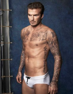 David Beckham swim for HM (2)