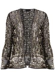 Sequin Mesh Jacket