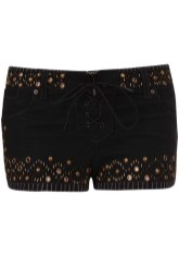 Studded Denim Short
