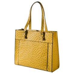 Merona Textured Tote Handbag, Yellow, $29.99