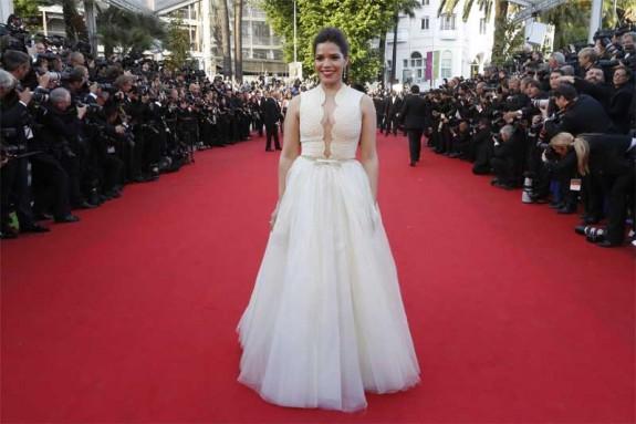 America Ferrera in Georges Hobeika Cannes 2014 01
