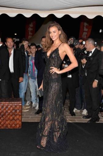 Irina Shayk in Roberto Cavalli