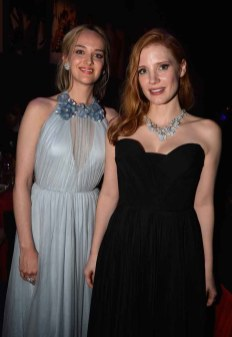 Jess Weixler and Jessica Chastain
