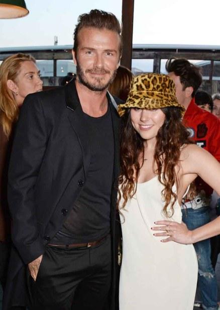 David Beckham, Eliza Doolittle
