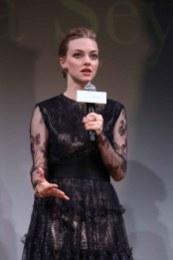 Amanda Seyfried Promotes Cle de peau BEAUTE 2014