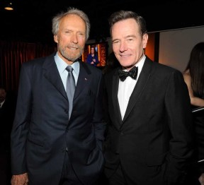 Clint Eastwood and Bryan Cranston