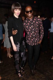 Coco Rocha and Eric West