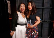 Shonda Rhimes and Kerry Washington,