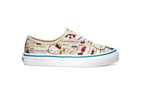Vans_Authentic_(Hello Kitty) redwhite_kids