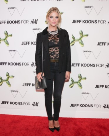 """Ashley Benson at the H&M and Jeff Koons 5th Avenue Flagship Store Celebration"""