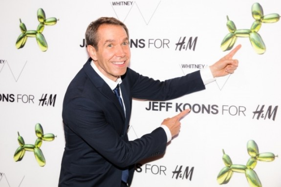 """""""Jeff Koons at the H&M and Jeff Koons 5th Avenue Flagship Store Celebration"""""""