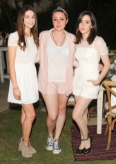 """""""Keri Pina, Rivka Sophia Rossi, and Shannon Woodward at the BCBGeneration Summer Dinner"""""""