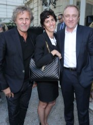 Renzo Rosso & Francesca Belletini & Francois Henri Pinault