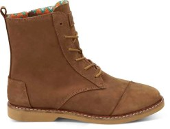 TOMS Alpa Boot- Brown Leather