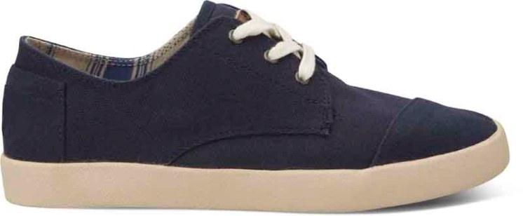 TOMS Paseo- Navy Canvas
