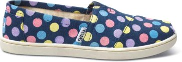 TOMS Youth- Rainbow Dot Classic