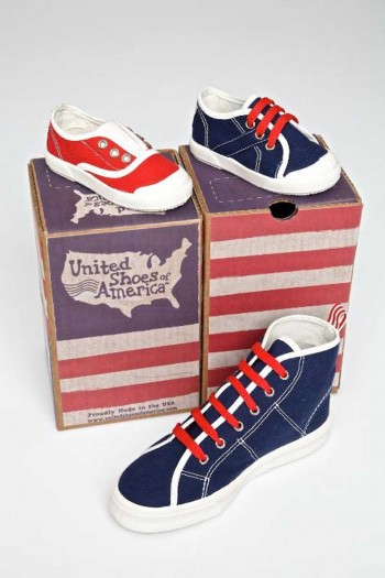 United Shoes of America Boxes