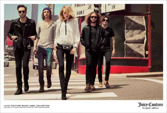 juicy couture black label F14 ad (1)