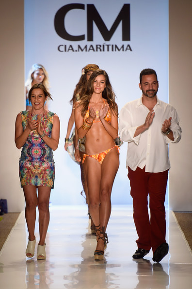 """""""Benny Rosset at the CM Cia.Marítima Summer 2015 Collection Runway Show"""""""