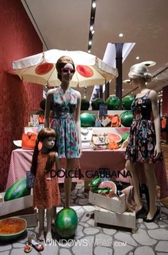 """""""WindowsWear: Dolce & Gabbana Corso Venezia in Milan"""""""