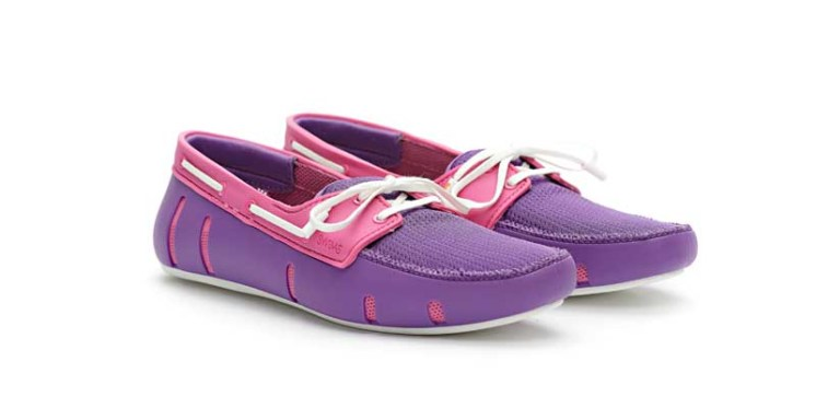 Swims sport loafer purple_pink_front