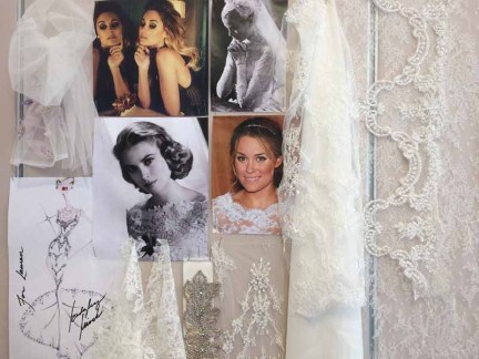 Mood Board for Lauren Conrad wedding dress