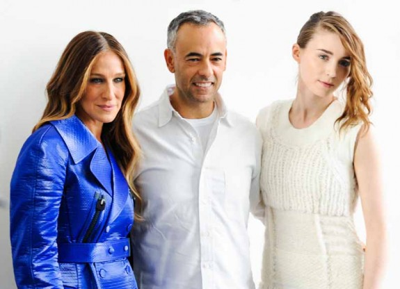 Sarah Jessica Parker, Francisco Costa, Rooney Mara