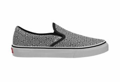 Vans Customs_Classic Slip-On_Geometric BlkWht