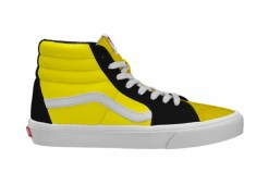 Vans Customs_Sk8-Hi_CyberYellowBlk