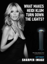 Heidi Klum for Sharper Image 2014 (4)