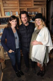 Jennifer Garner, Blake Mycoskie, Heather Mycoskie