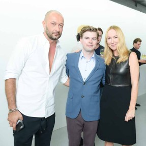 Frida Giannini, Kris Knight, Milan Vukmirovic